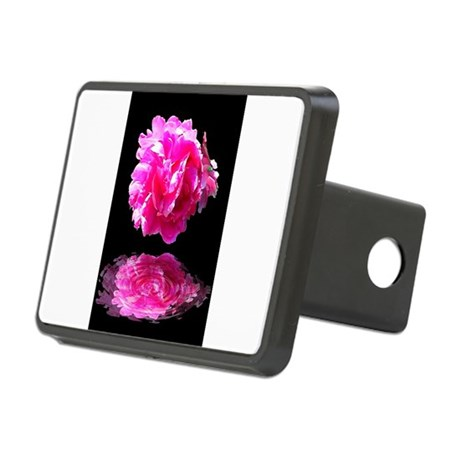 Peony Reflections Rectangular Hitch Cover
