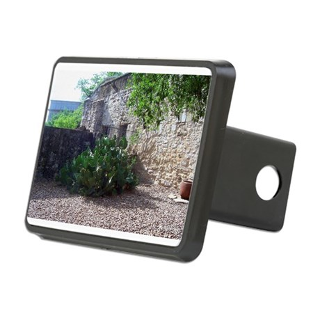 Corner Cactus Rectangular Hitch Cover