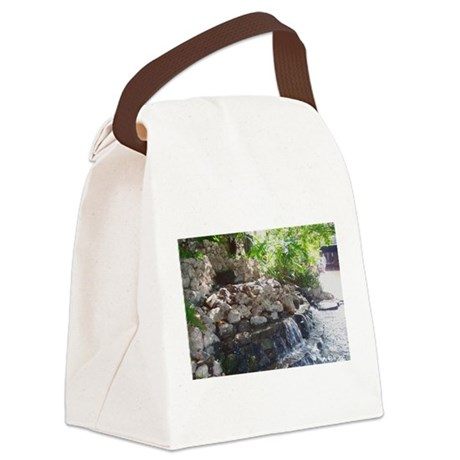 Waterfall Canvas Lunch Bag