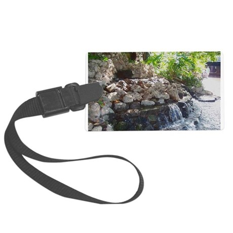 Waterfall Large Luggage Tag