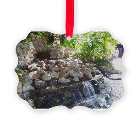 Waterfall Picture Ornament