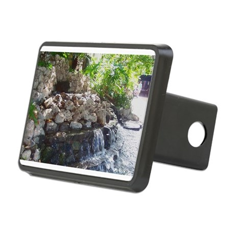 Waterfall Rectangular Hitch Cover