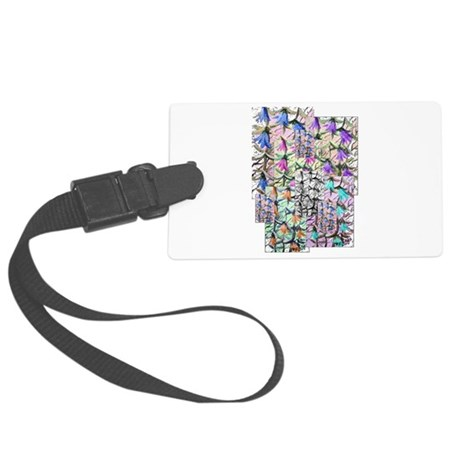 ladybells2blk.JPG Large Luggage Tag