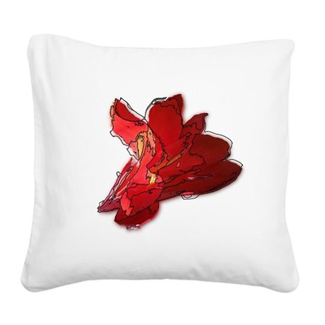 cannaline1.JPG Square Canvas Pillow