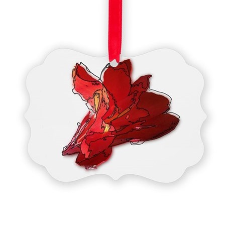 cannaline1.JPG Picture Ornament