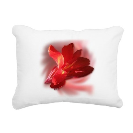 Blended Canna Rectangular Canvas Pillow