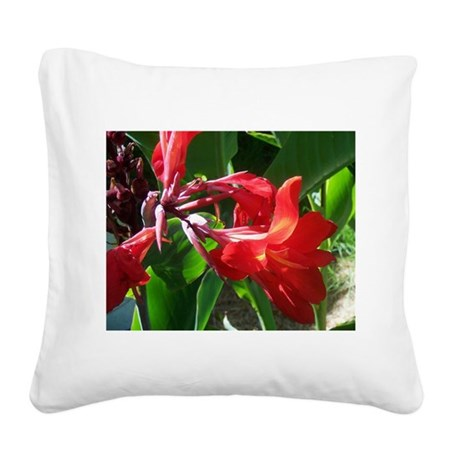 canna101.jpg Square Canvas Pillow