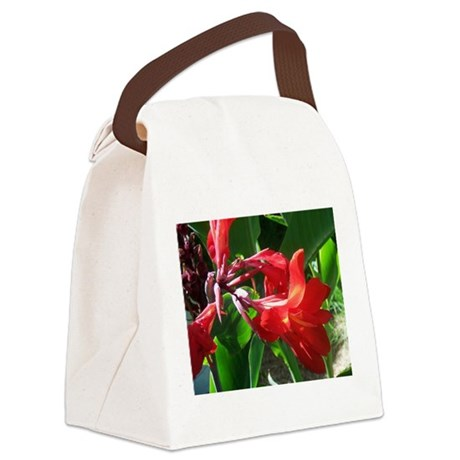 canna101.jpg Canvas Lunch Bag