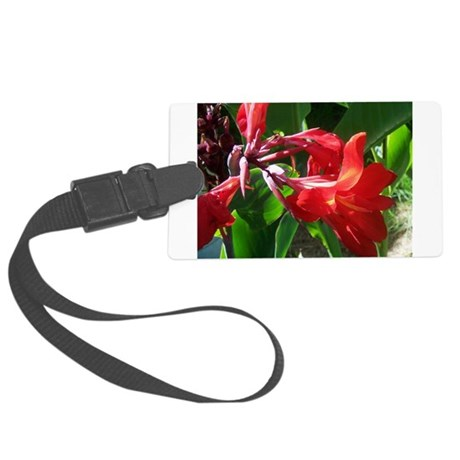 canna101.jpg Large Luggage Tag