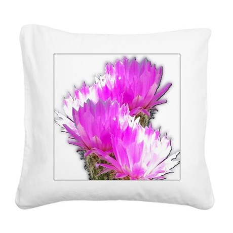cactus1.jpg Square Canvas Pillow