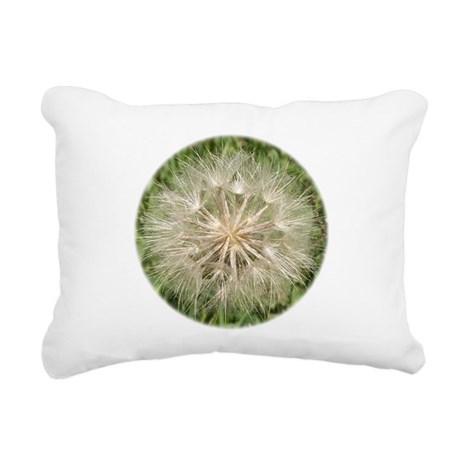 Milkweed Rectangular Canvas Pillow