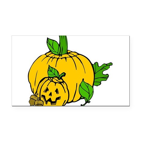 pumpkin.png Rectangle Car Magnet