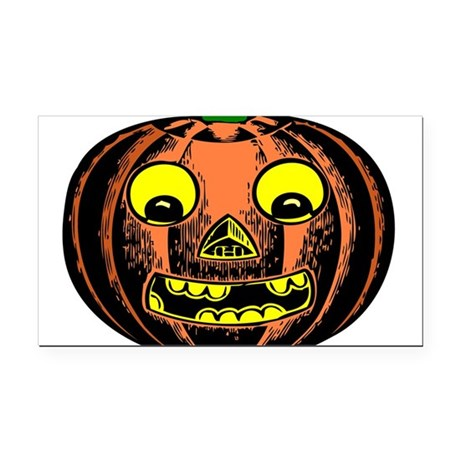 jackolantern2ab.png Rectangle Car Magnet