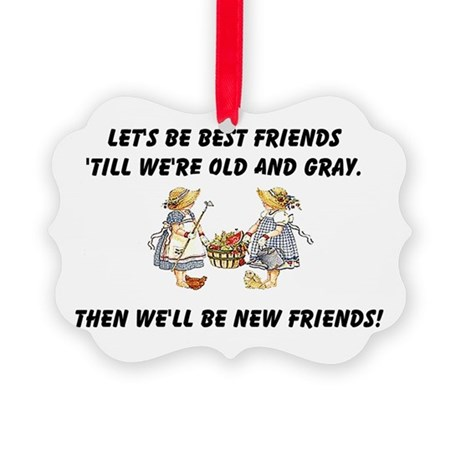 bestfriends.png Picture Ornament