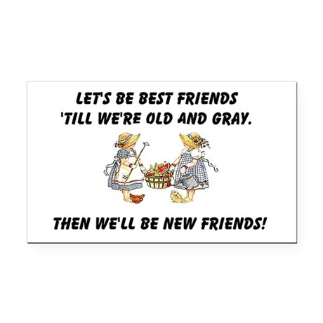 bestfriends.png Rectangle Car Magnet