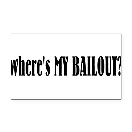 bailout.png Rectangle Car Magnet