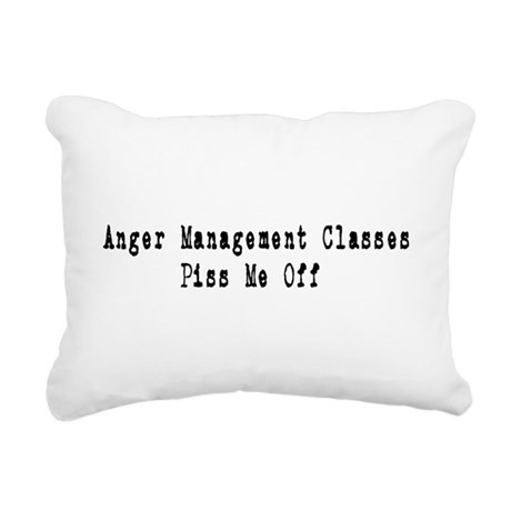 anger1.png Rectangular Canvas Pillow
