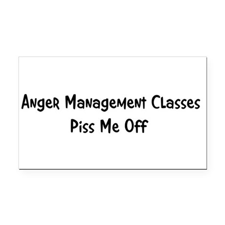 anger3.png Rectangle Car Magnet