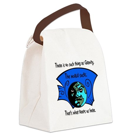 worldsucks1.png Canvas Lunch Bag