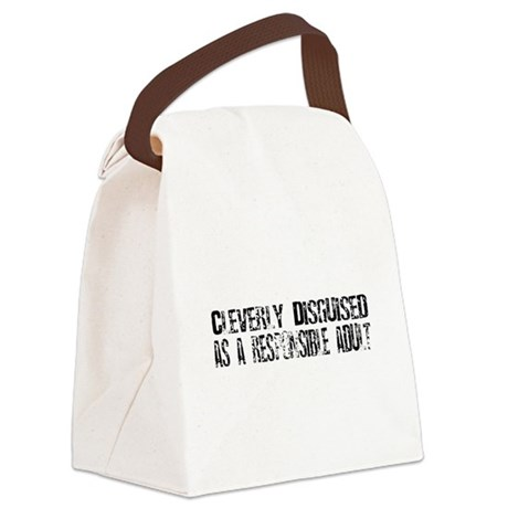 disguised1.png Canvas Lunch Bag
