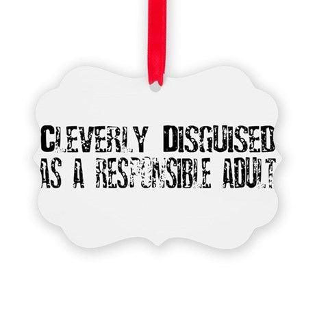 disguised1.png Picture Ornament