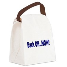 backoff.png Canvas Lunch Bag