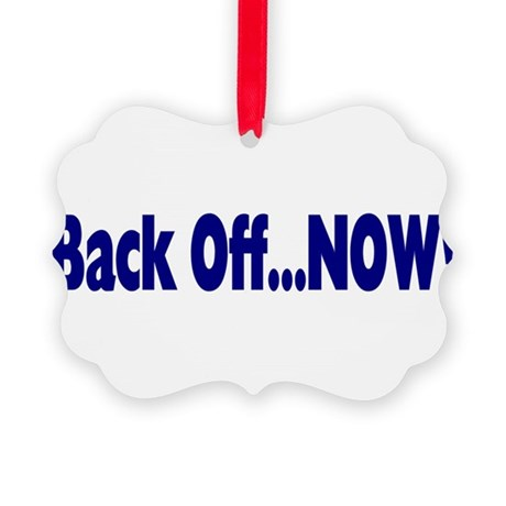 backoff.png Picture Ornament