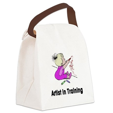artist2.png Canvas Lunch Bag