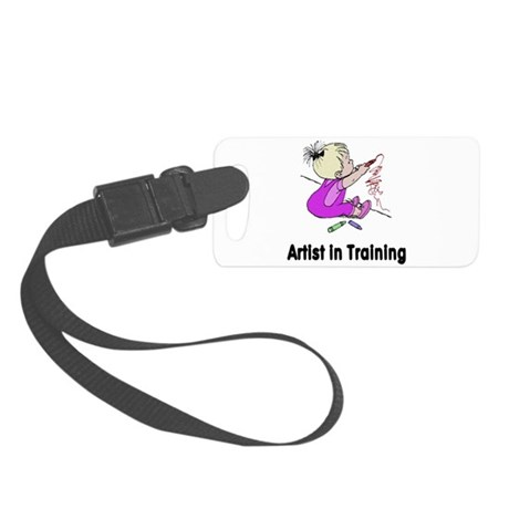 artist2.png Small Luggage Tag