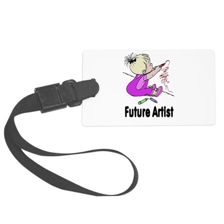 artist.png Large Luggage Tag