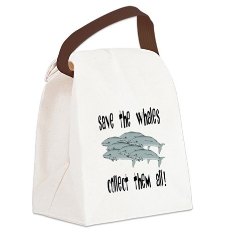whales1.png Canvas Lunch Bag