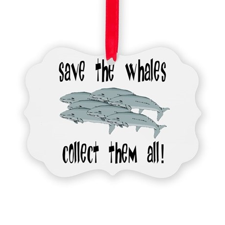whales1.png Picture Ornament