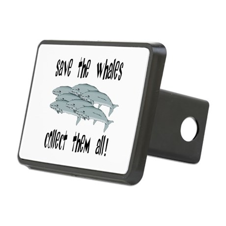 whales1.png Rectangular Hitch Cover