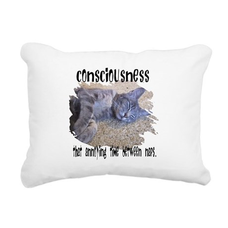 consciousness2.png Rectangular Canvas Pillow