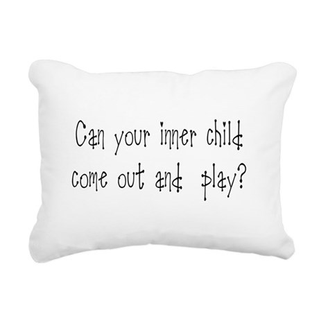 Inner Child Rectangular Canvas Pillow