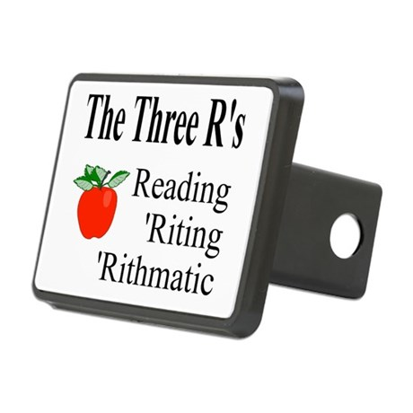 The Three Rs Rectangular Hitch Cover