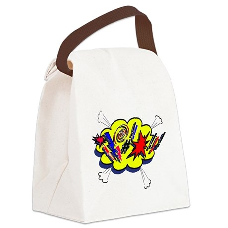 expletive Canvas Lunch Bag