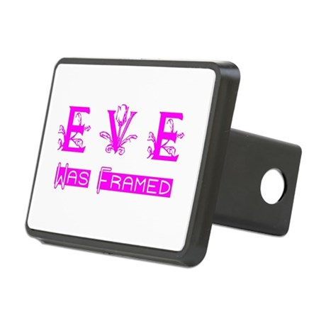 Eve was Framed Rectangular Hitch Cover