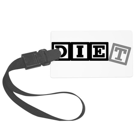 diet11.png Large Luggage Tag