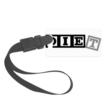 diet11.png Small Luggage Tag