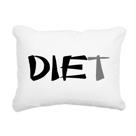 diet9.png Rectangular Canvas Pillow