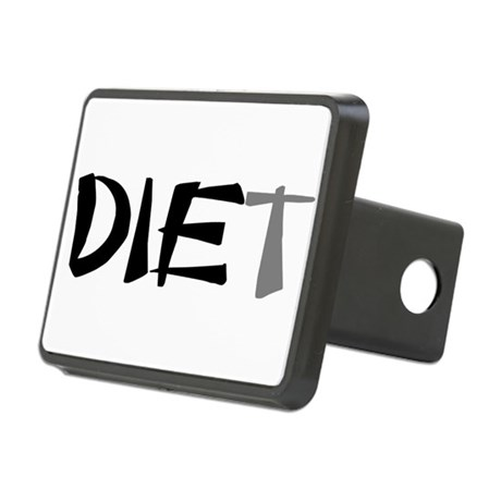 diet9.png Rectangular Hitch Cover