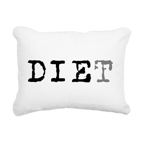 diet7.png Rectangular Canvas Pillow