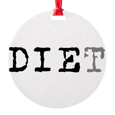 diet7.png Round Ornament