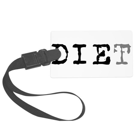 diet7.png Large Luggage Tag