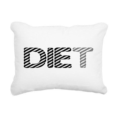 diet5.png Rectangular Canvas Pillow