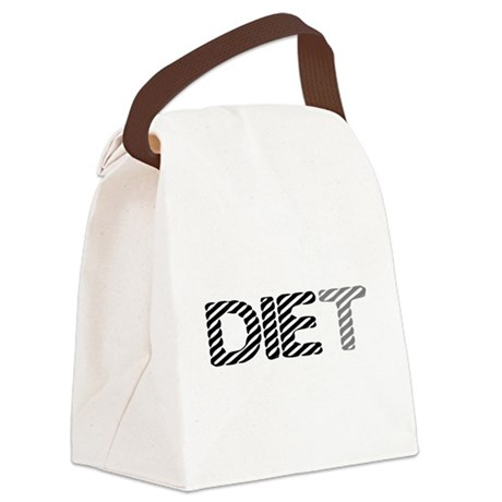 diet5.png Canvas Lunch Bag