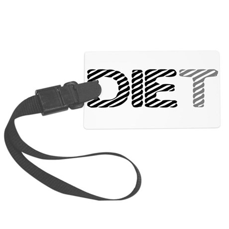 diet5.png Large Luggage Tag