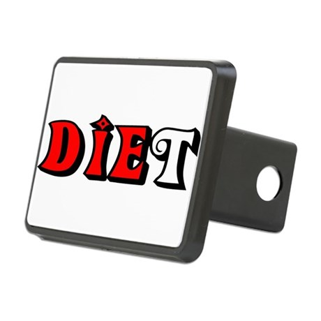 diet.png Rectangular Hitch Cover
