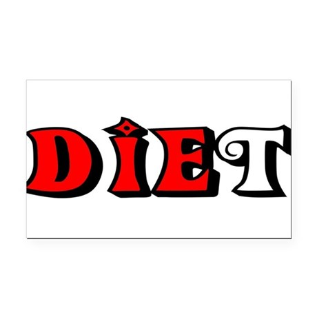 diet.png Rectangle Car Magnet